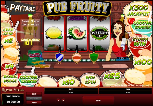 royal vegas casino fruite
