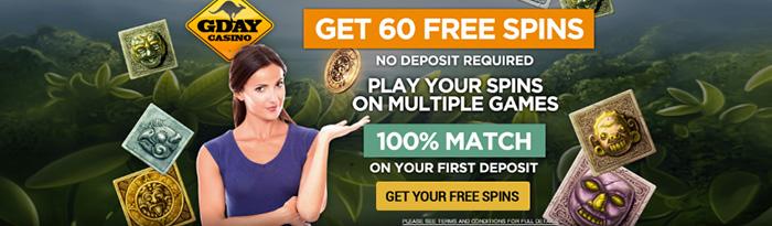 Online casino Australia Gday