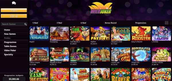 Wild Joker casino games